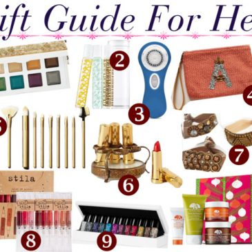 2013 Holiday Gift Guide For Her