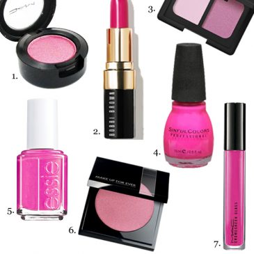 Fuchsia Lids, Lips and Tips